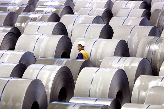 Программа сокращения производства стали продолжает работать